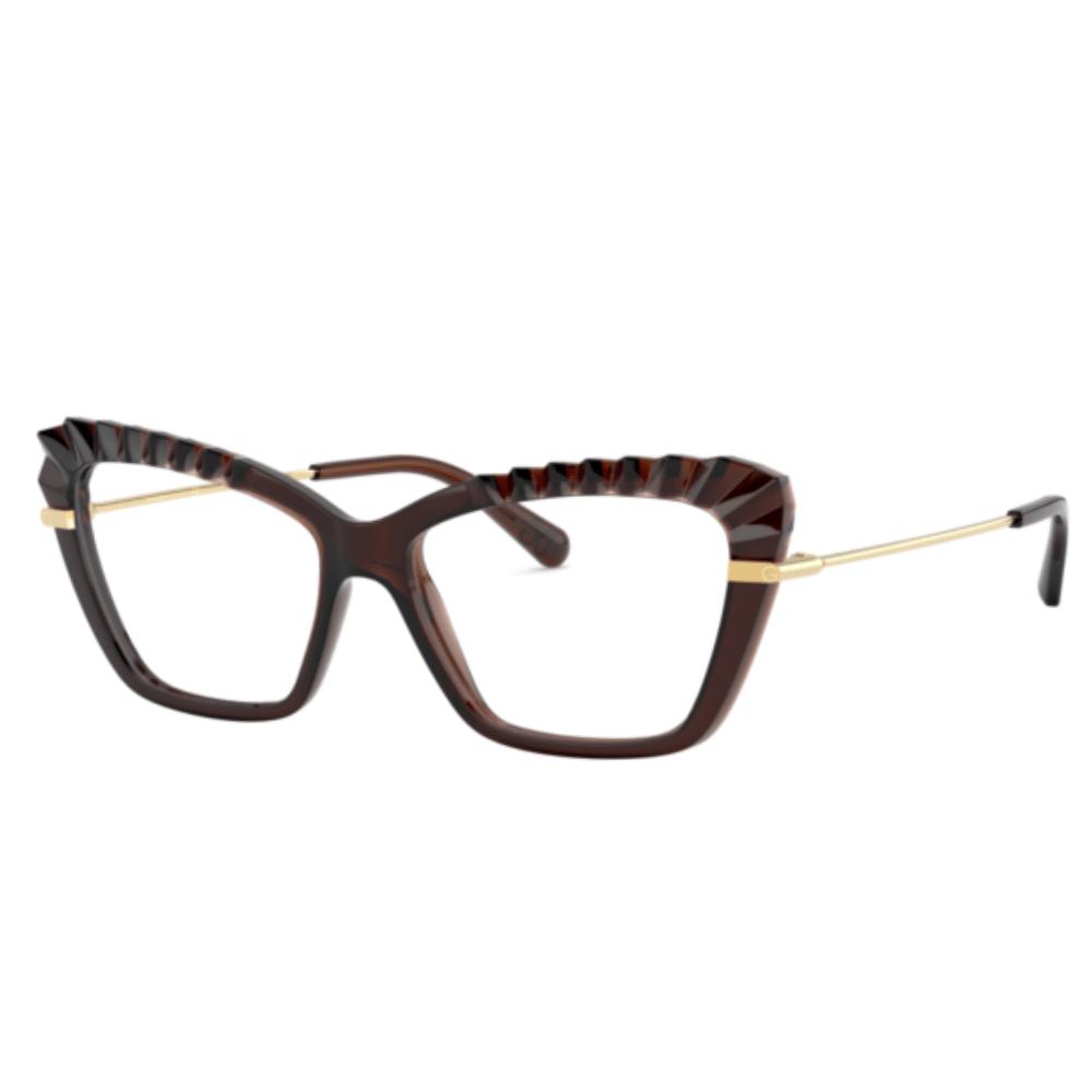 Oculos-de-Grau-Dolce---Gabbana-5050-3159-Marrom-Translucido