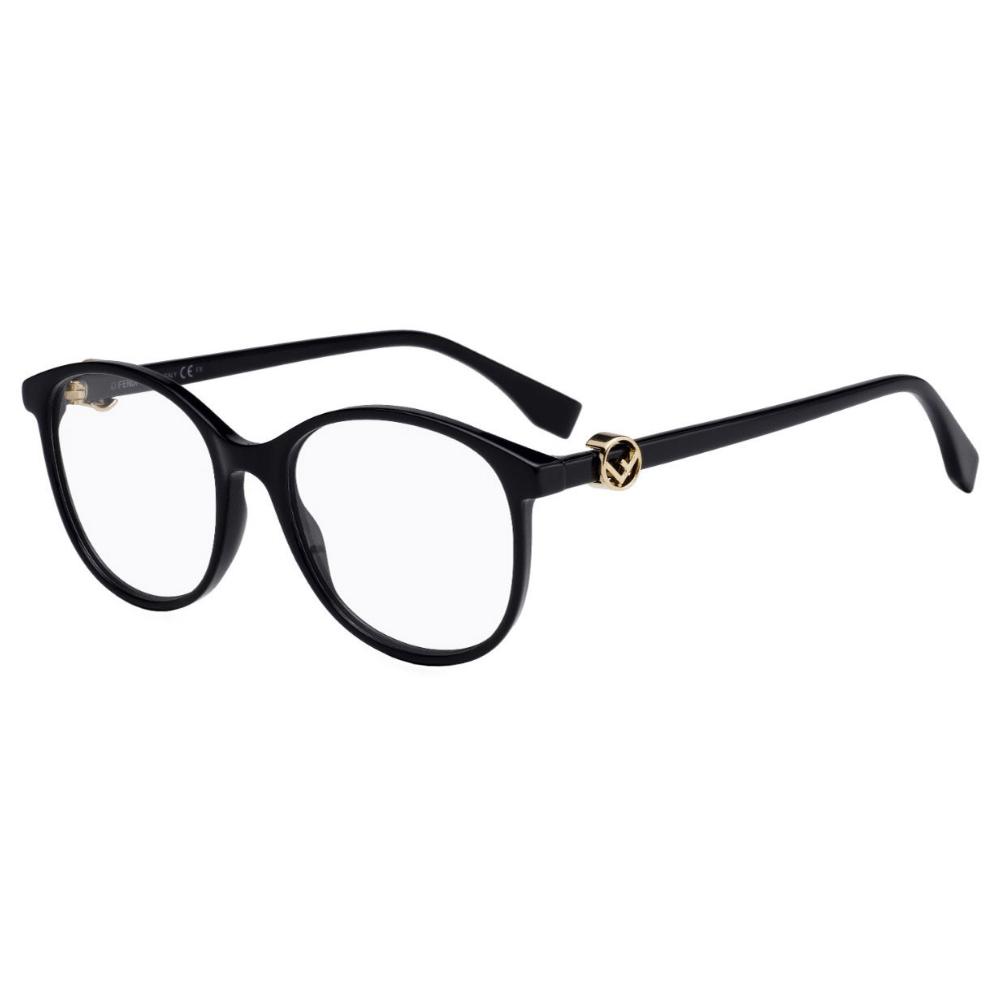 Oculos-de-Grau-Fendi-0299-807-Preto