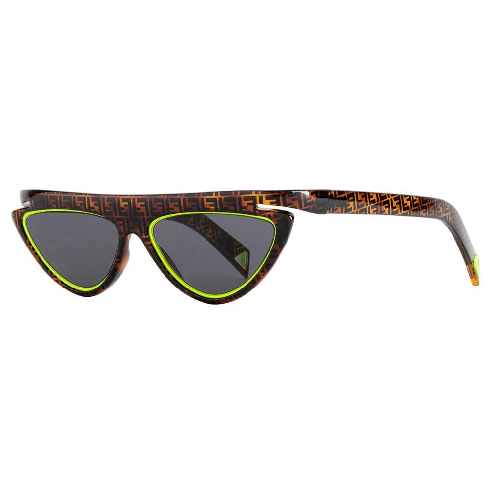 Oculos-de-Sol-Fendi-Fluo-0383-HJV-IRS-verde-neon