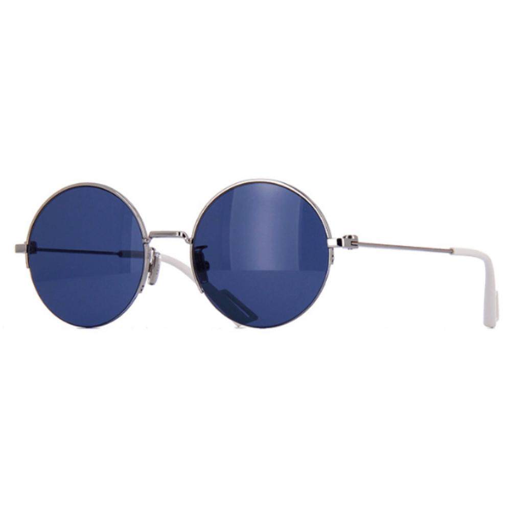 Oculos-de-Sol-Redondo-Prata-Dior-Homme-180.2F-KWXKU