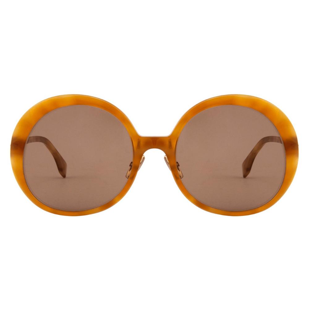 Oculos-de-Sol-Redondo-Fendi-0430-S-C9B-70-Marrom