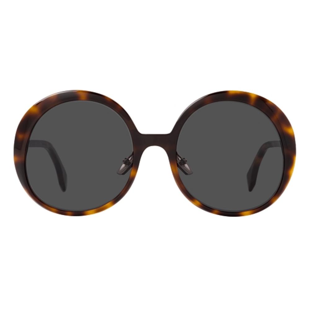 Oculos-de-Sol-Redondo-Fendi-Marrom-0430-S-9N4-IR