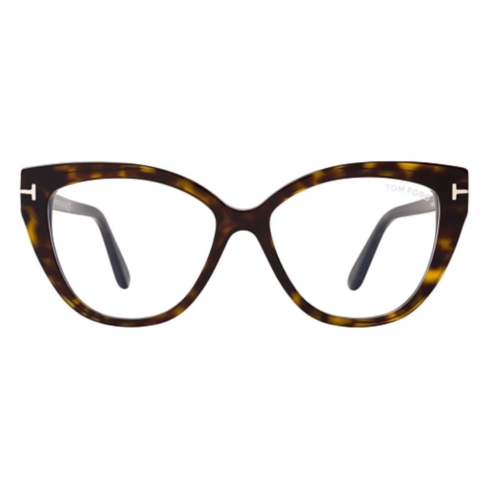 Oculos-de-Grau-Feminino-Gatinho-Marrom-Tom-Ford-5673-B-052-