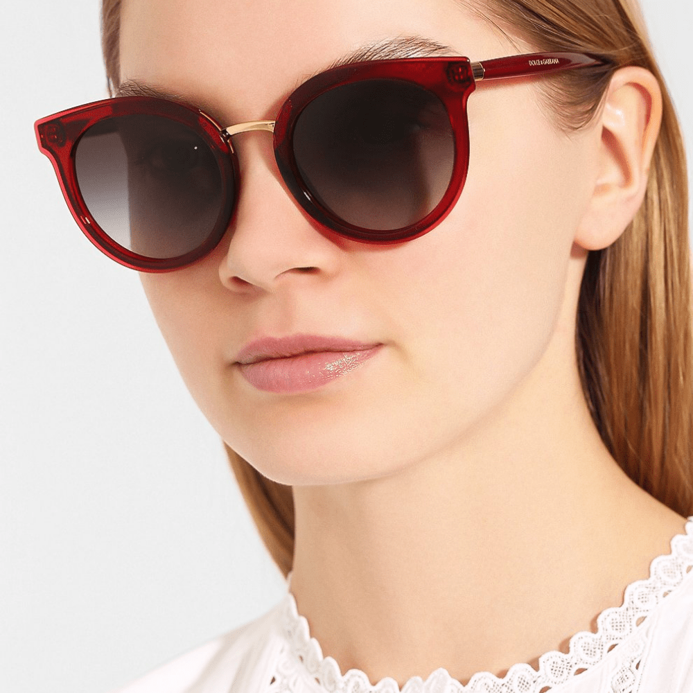Oculos-de-Sol-Dolce---Gabbana-4371-550-8G-Vermelho