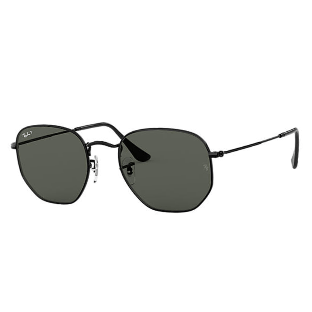 Oculos-de-Sol-Ray-Ban-Hexagonal-Flat-3548-NL-002-58-Polarizado