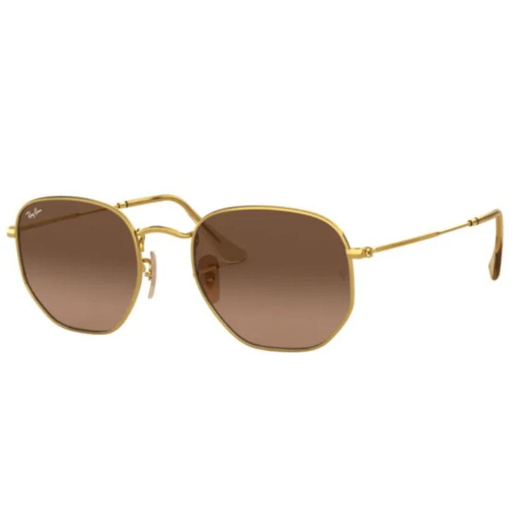 Oculos-de-Sol-Ray-Ban-Hexagonal-Marrom-3548-NL-912443